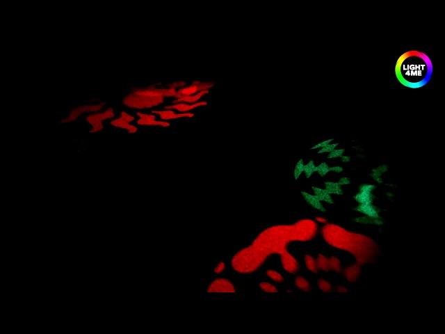 MUSICEXPRESS - LIGHT4ME GOBO FLOWER EFEKT LED 8 GOBO 8x3W CREE