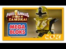 Видео обзор | Power Rangers Super Samurai | Могучие Рейнджеры Супер Самураи | MEGA BLOKS | 5805