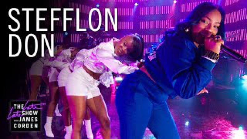 Stefflon Don - Hurtin' Me (The Late Late Show with James Corden)