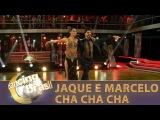 Jaqueline e Marcelo conquistam jurados ao som de Lady Gaga em cha cha cha