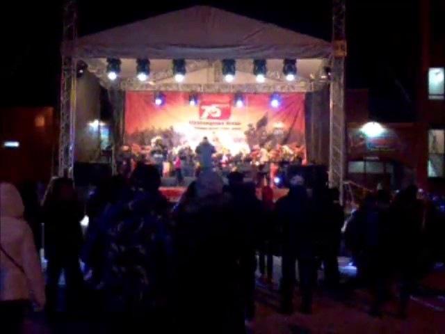 Концерт 11.12.2016 Истра пл. Дружбы ЦД Мир