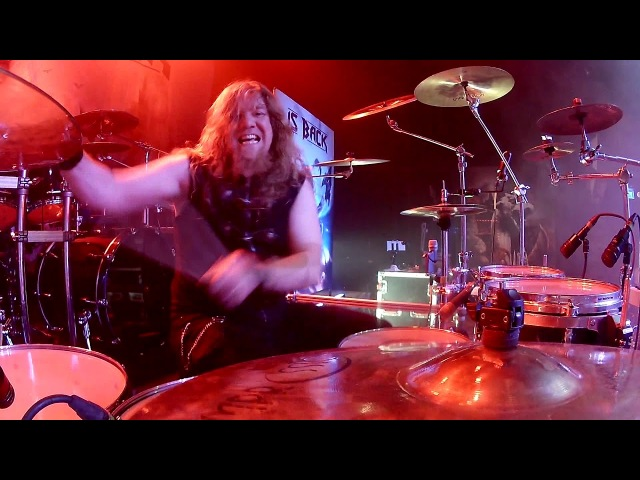 Atte P. Live Drum Cam, Beast In Black - End Of The World