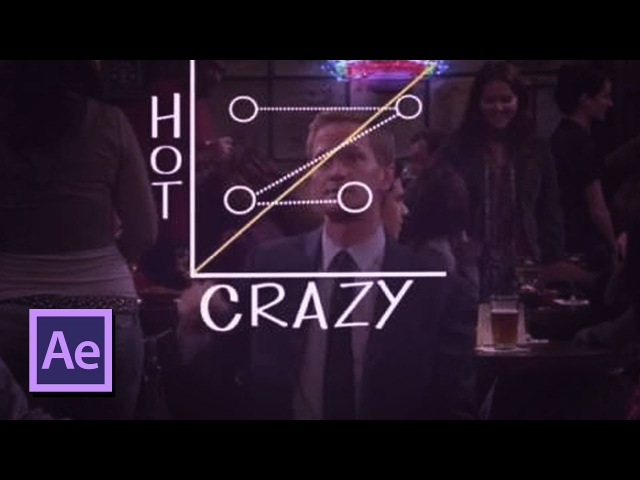 How To Create The Hot & Crazy Scale in After Effects (How I Met Your Mother, Barney Stinson)