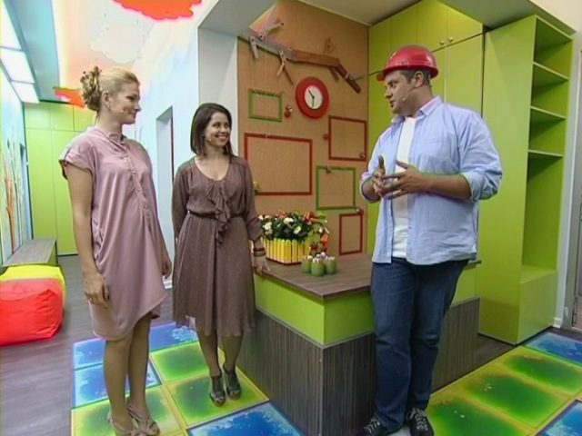 Школа ремонта 8 сезон 26 выпуск Живой пол под оранжевыми облаками