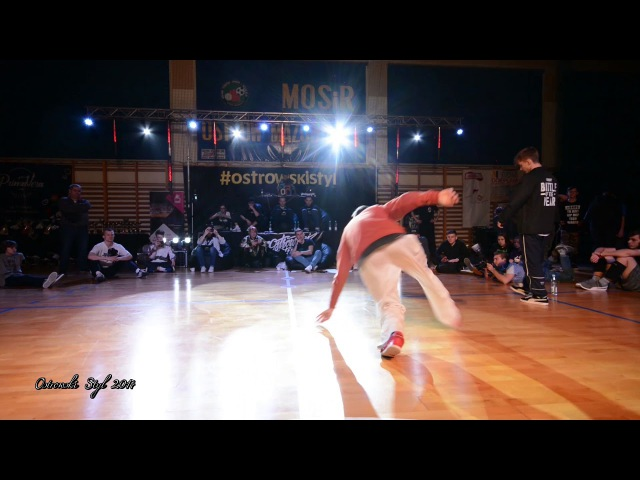 Ostrowski Styl 2017 / Bboy Mikola vs Bboy Wild / Top 16 Bboying 1vs1