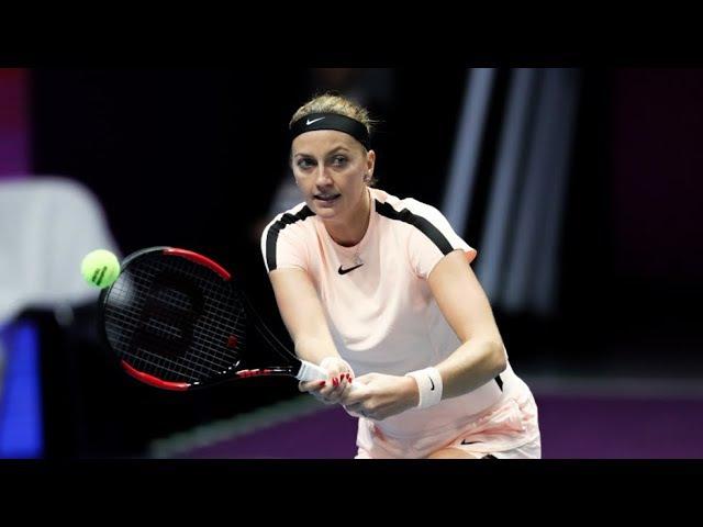2018 St Petersburg Open First Round Petra Kvitova vs Elena Vesnina WTA Highlights