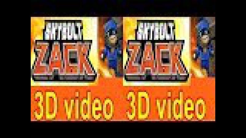 3D Skybolt Zack TV VR box video Side by Side SBS google cardboard