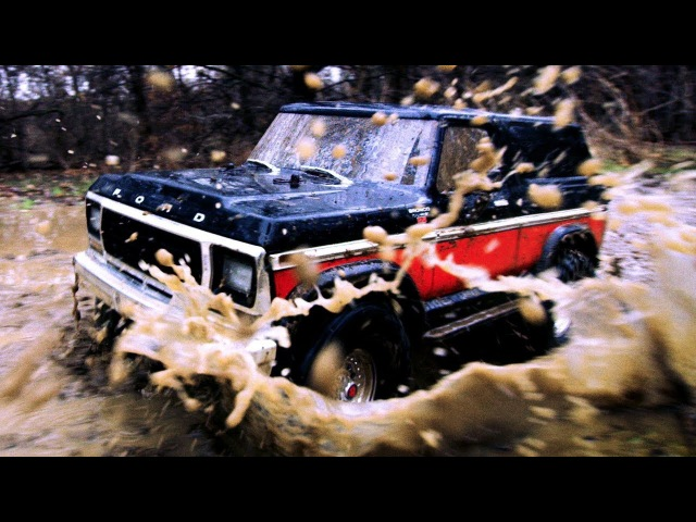 Scale RC Mudding Adventure | Traxxas TRX-4 Bronco