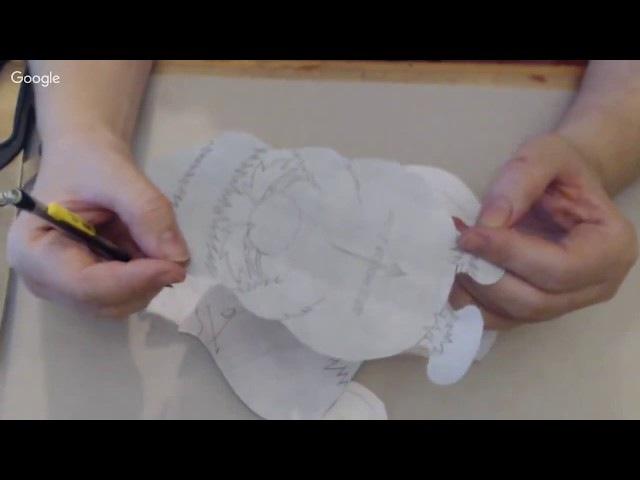 Видео мастер-класс: Снегирь в технике грунтованный текстиль