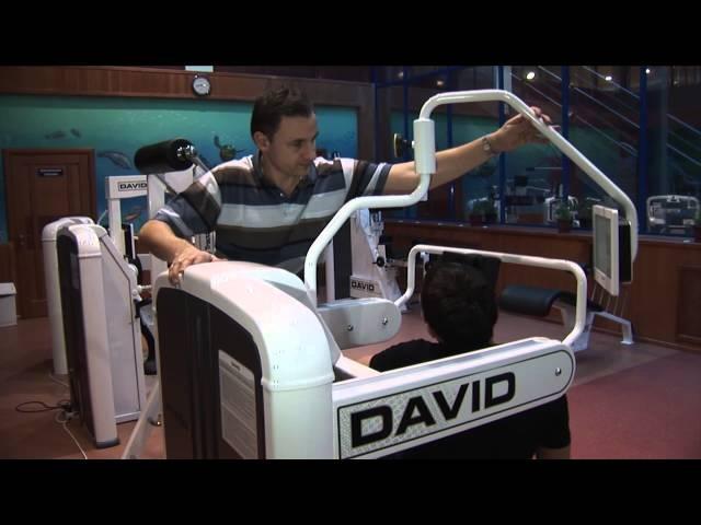 Кимберли Лэнд - Медико-реабилитационный центр, тренажеры для спины David