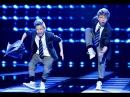 Eksplozja energii na scenie Taneczny duet sprawi że zaczniesz się ruszać Mali Giganci