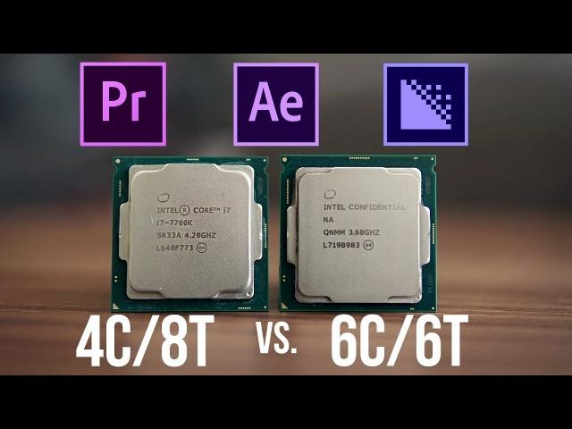 8600K vs 7700K - Better CPU for Adobe Content Creation?