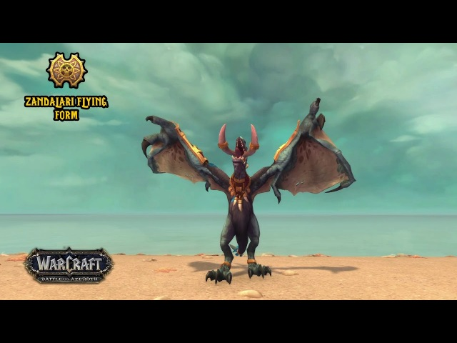 Zandalari Druid Forms - Battle for Azeroth