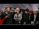171119 BTS @ The American Music Awards Red Carpet by E! Live