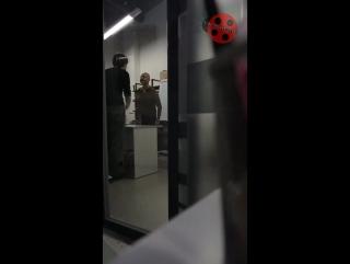 Ссора режиссера и продюсера