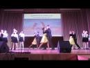 Выступление с вокально-танцевальной композицией Ленинградский вальс