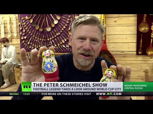 The Peter Schmeichel Show: Legendary goalkeeper explores World Cup host cities (Nizhny Novgorod)
