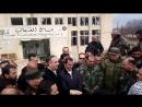 Губернатор провинции Дамаск Аляа Ибрагим посетил Мазраат Бейт Джин
