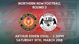 2018 NNSWF NPL Round 3 - Lambton Jaffas FC v Weston Workers Bears FC