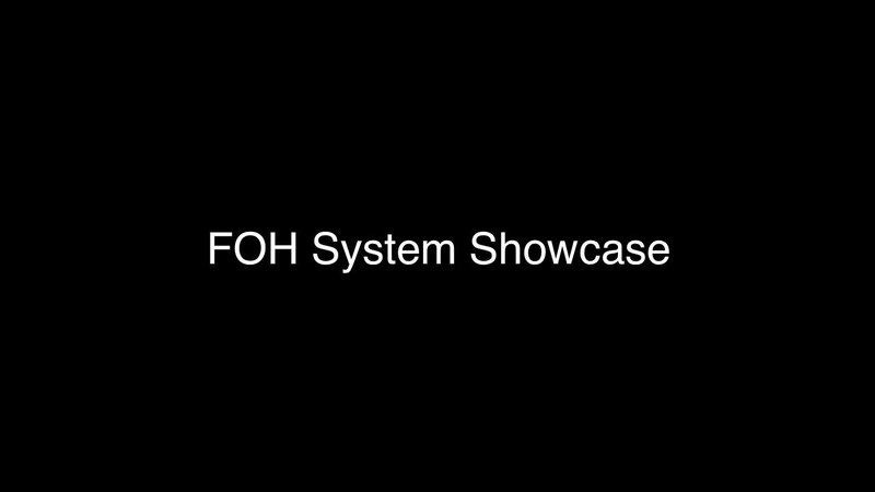 Avid VENUE | S6L Real Time Workflows—FOH System Showcase