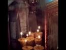 Освящение сретенских свечей mp4