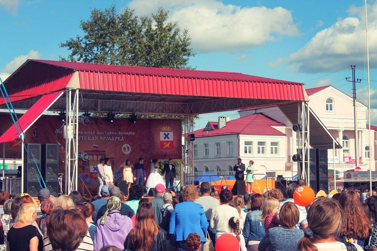 Сцена Ирбитской ярмарки