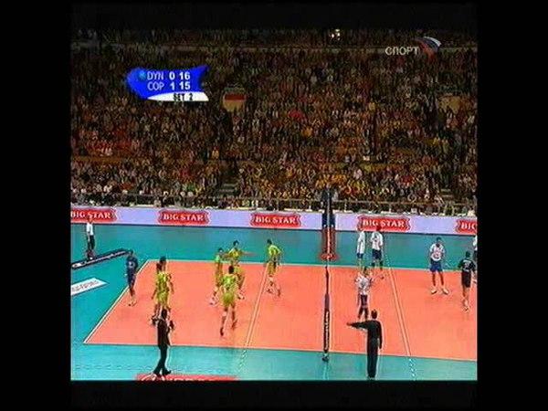 Dinamo TTG Kazan - Copra Volley Piachenza, CEV Champions League