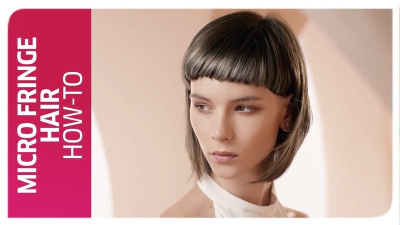 Micro-Fringe Bangs Hair How To I Wella Professionals