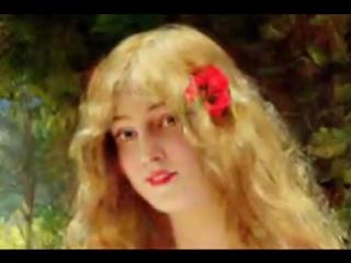 Вся эволюция женской красоты в живописи за 3 минуты.