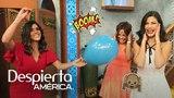 Francisca les pega tremendo susto a Karla y Ana con un globo