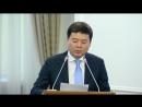 ҚР Үкіметінің заң жобалау жұмыстарының 2017 ж және 2018 ж жоспарлары туралы М Бекетаев