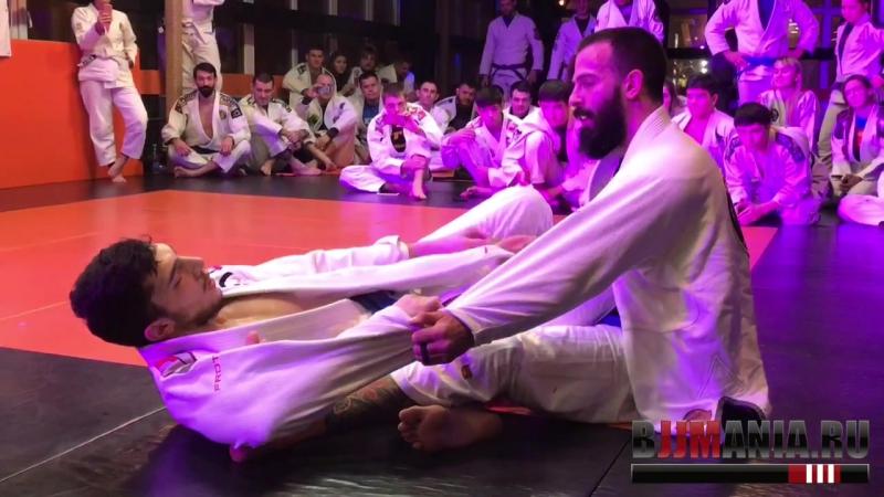 Александр Каландаришвили vs Симрал Тагиев - супер-схватка на BJJ Mania Party Super Fights