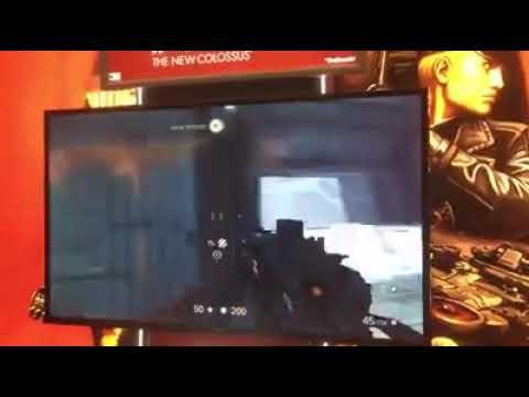 Wolfenstein 2 rodando no switch