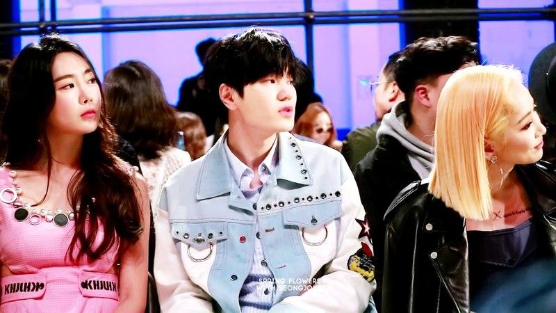 [27.03.18] Неделя моды в Сеуле | Показ коллекции Квак Хёнджу (Сонджон)