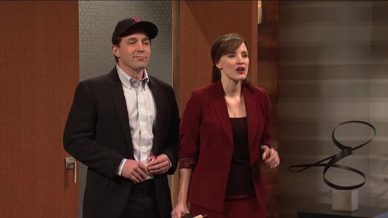 Скетч шоу «Saturday Night Live» 1 (20/01/18)