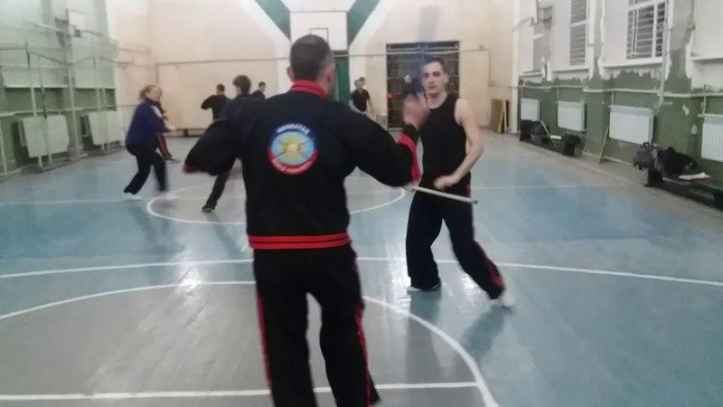 Kombatan Arnis (palit-palit solo baston, 8 углов атаки )
