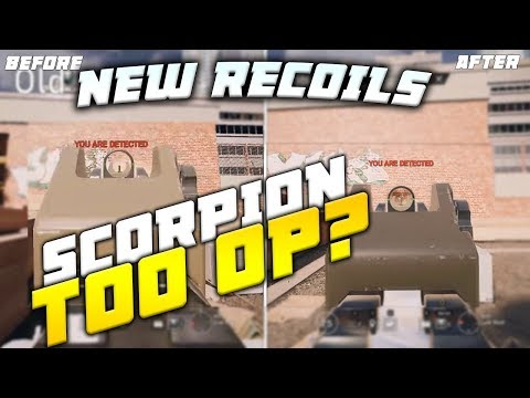 New Recoil Tested (12 Guns), Too Easy to Control - Side by Side Comparison - Rainbow Six Siege TTS