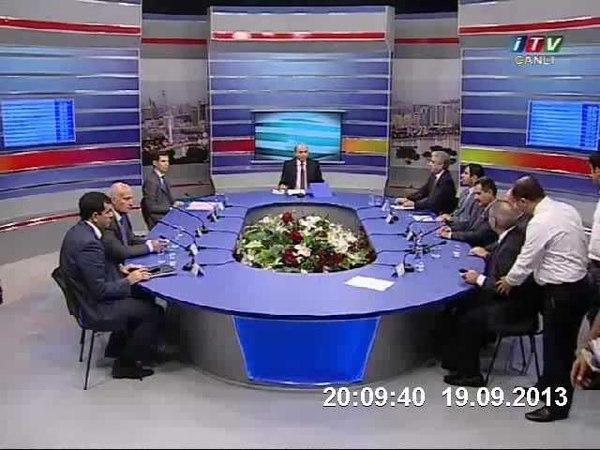 İctimai televiziyada dava: Cəmil Həsənli, Əli Əhmədov və Hafiz Hacıyev (qalmaqallı görüntülər)
