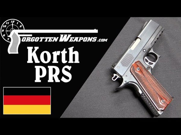 Korth PRS Automatic Pistol: German Quality (And Price!)