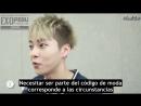 [SUB ESP] Entrevista a Xiumin de EXO, Embajador del Fashion Code 2014