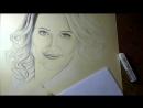 Рисуем чёрно-белый портрет