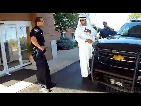 Police Bodycam Video Shows Arab Man Mistaken As Member Of ISIS