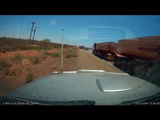 Самый длинный грузовик Австралии