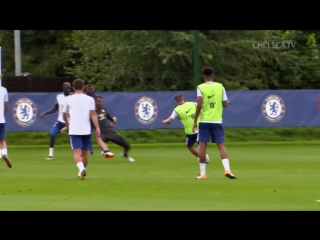 Some great goals scored in training this week! / vk.com/chelsea