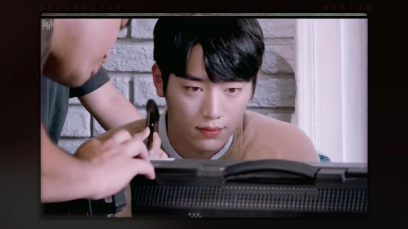 SEO KANG JUN 서강준 - 토니모리 광고촬영 비하인드