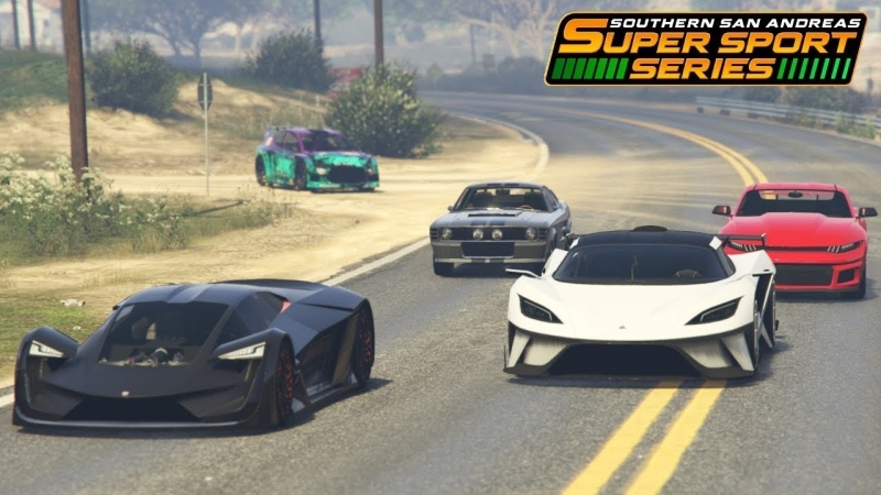 [oleg_aka_djmeg] GTA Online - Fastest Unreleased Cars From The Super Sport Series DLC (Muscle, Sports, Super)