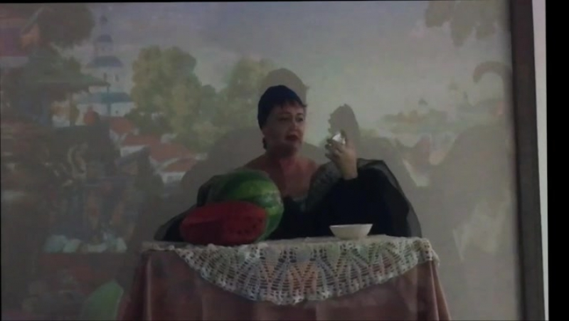 Актриса театра Секрет Елена Телегина. Купчиха за чаем Б.М. Кустодиев. Юбилей ТХМ. театртольятти театрытольятти театр теа
