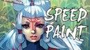 Zelda BOTW Paya Speedpaint