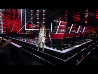 Мария Кабашова спела песню «Стану солнцем» на слепых прослушиваниях - Голос - Сезон 6