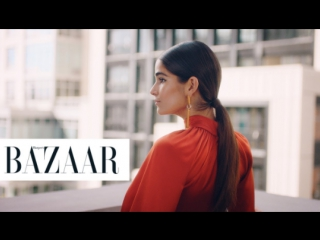 The red carpet secret to getting the perfect sleek ponytail - harpers bazaar + dyson supersonic™